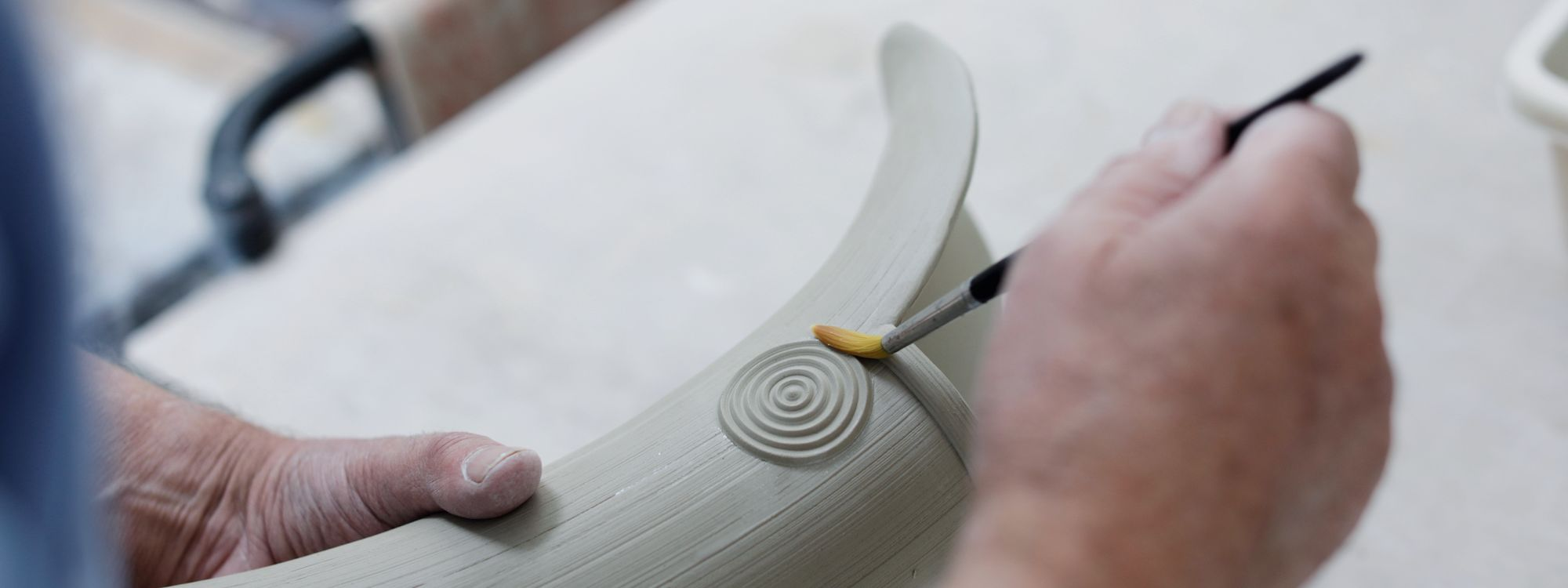 Walter Keeler. Photo by Layton Thompson for Ceramic Review