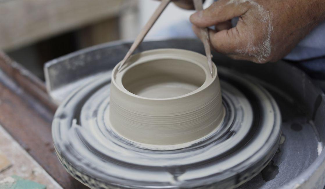 Walter Keeler masterclass Ceramic Review. Photo Layton Thompson