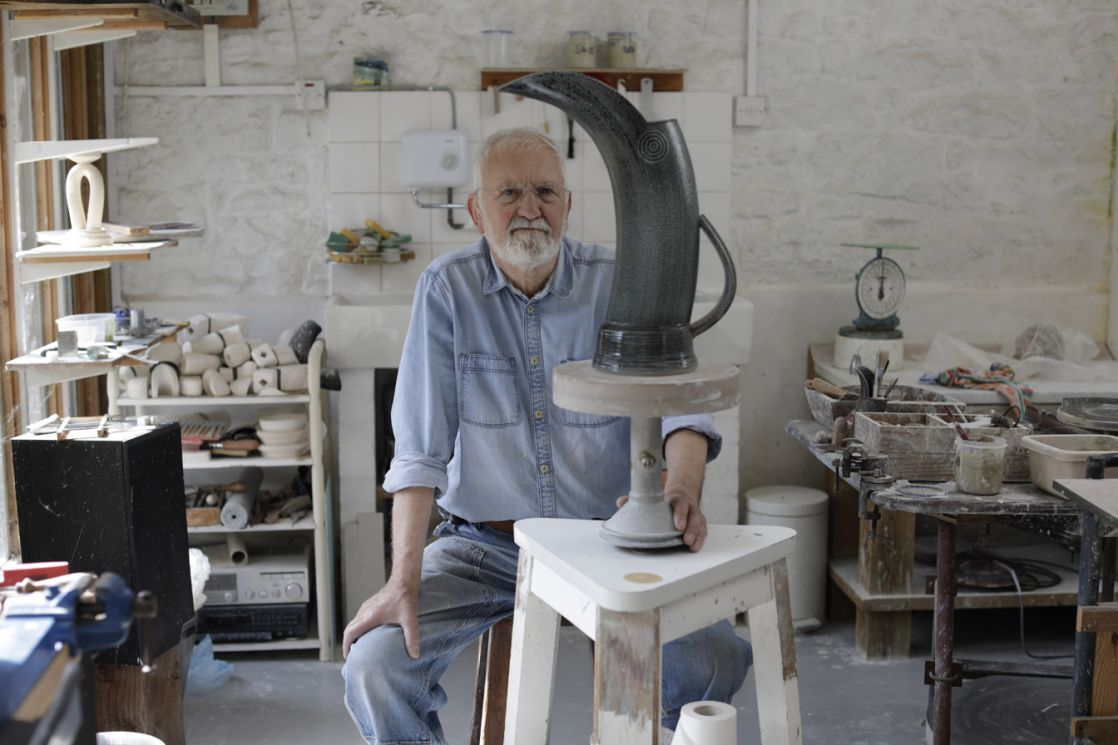 Walter Keeler masterclass Ceramic Review. Photo Layton Thompson