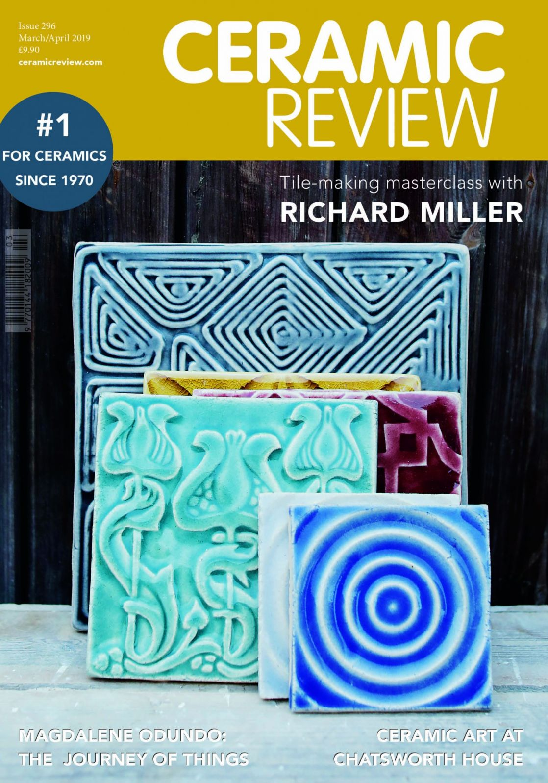 Ceramic Review CR issue 296 March April 2019