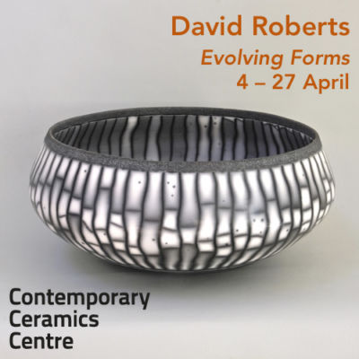 DAVID ROBERTS. Photo Dee Honeybun, courtesy Contemporary Ceramics