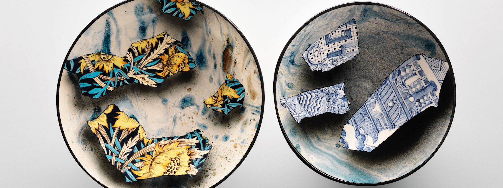 Stephen Bowers plates - Ceramic Review Magazine