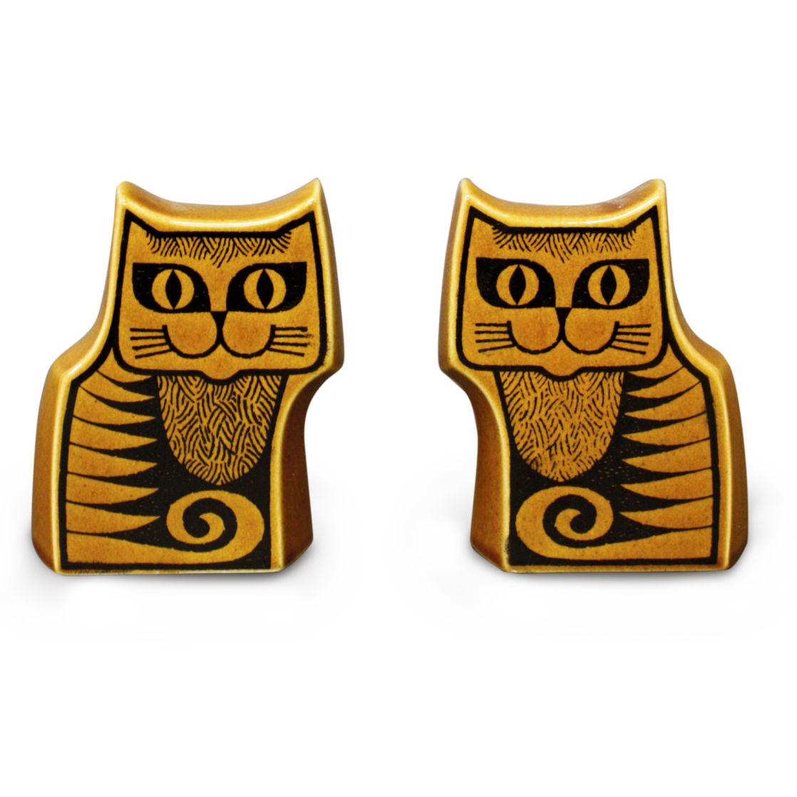 Hornsea Pottery - Ceramic Cat Salt and Pepper - Ceramic Review magazine