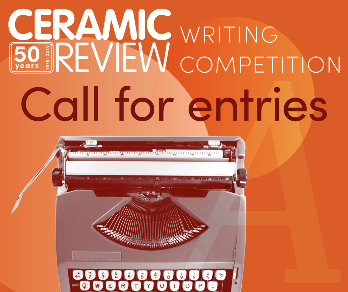 Ceramic Review Writing Competition Call out